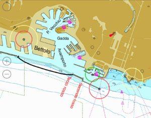 Zona del porto di Genova