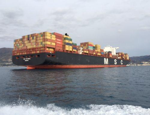 MSC Istanbul, la prima nave da 400 metri a Genova. John Gatti
