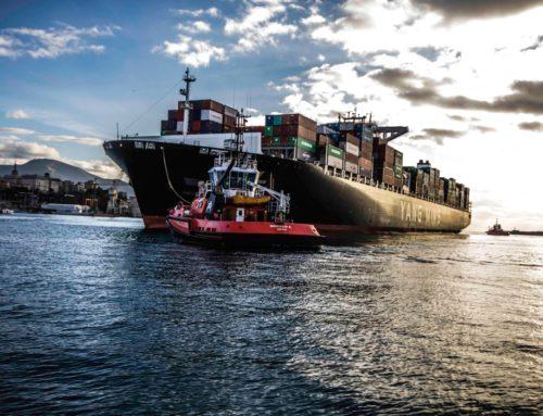 Manovra di una grande nave portacontenitori – Video – John Gatti