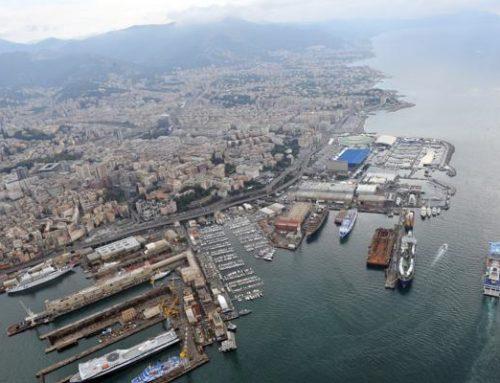 Le riparazioni navali del porto di Genova – Fausto Mazza.