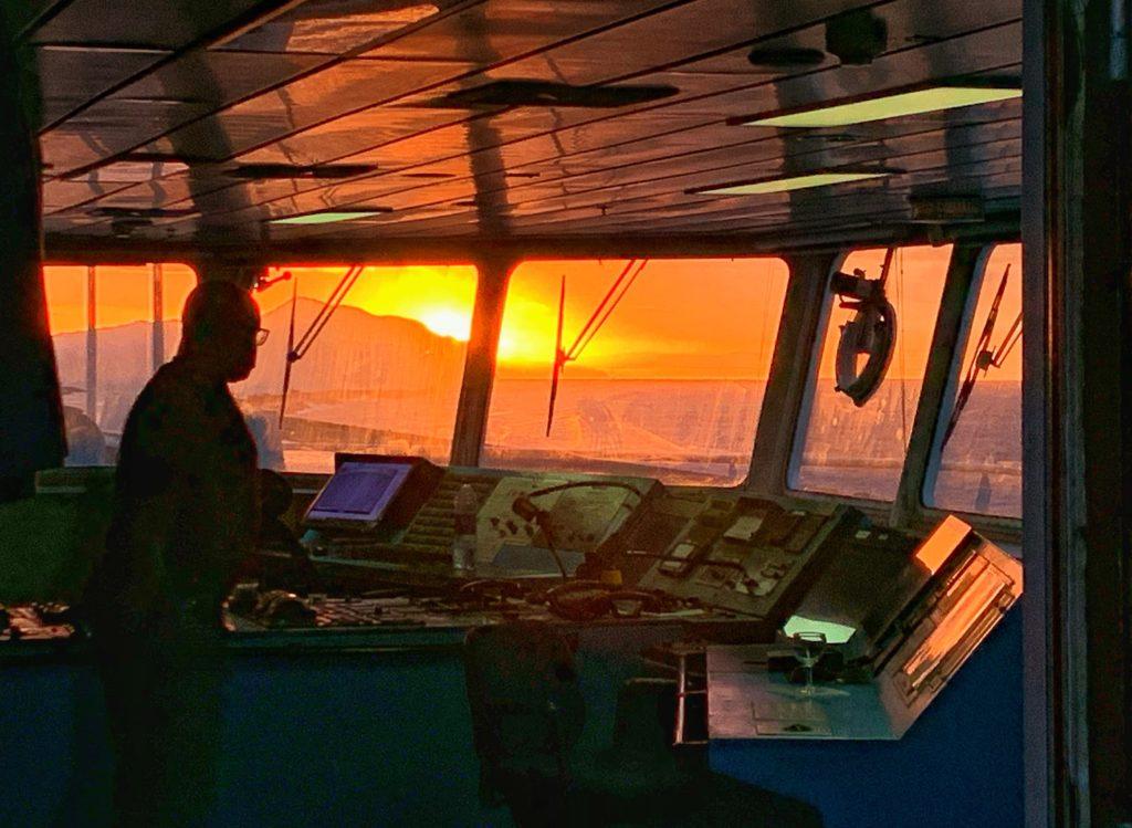 """Ponte di Comando della nave """"Salammbo 7"""""""